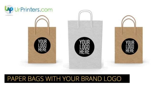CUSTOMIZED PAPER BAGS WITH YOUR BRAND LOGO